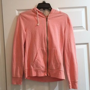 Jackets & Blazers - T4T Peach Zip Up Hoodie